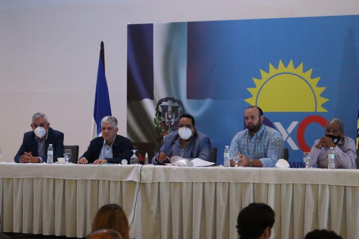 Partido Dominicanos por el Cambio reúne su Consejo Ejecutivo Nacional