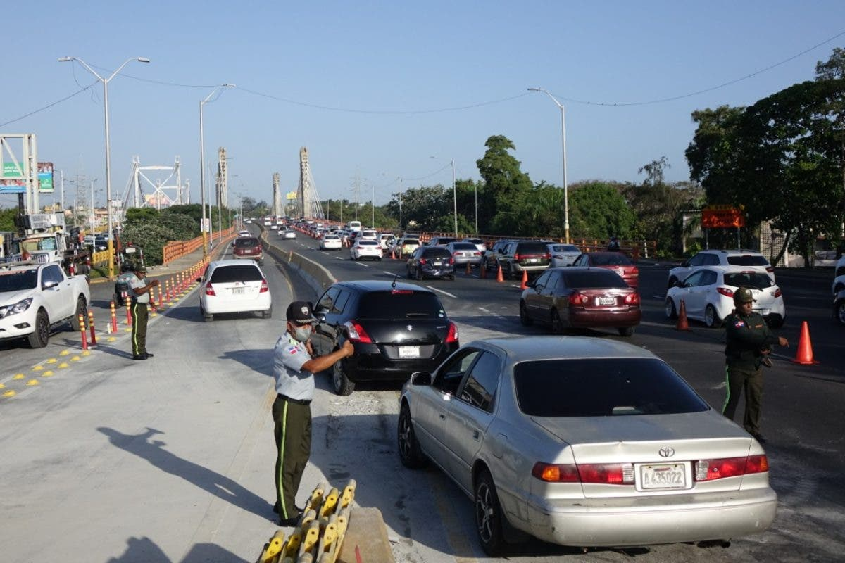 DIGESETT inició pruebas de contraflujo por reparación del Puente Juan Bosch