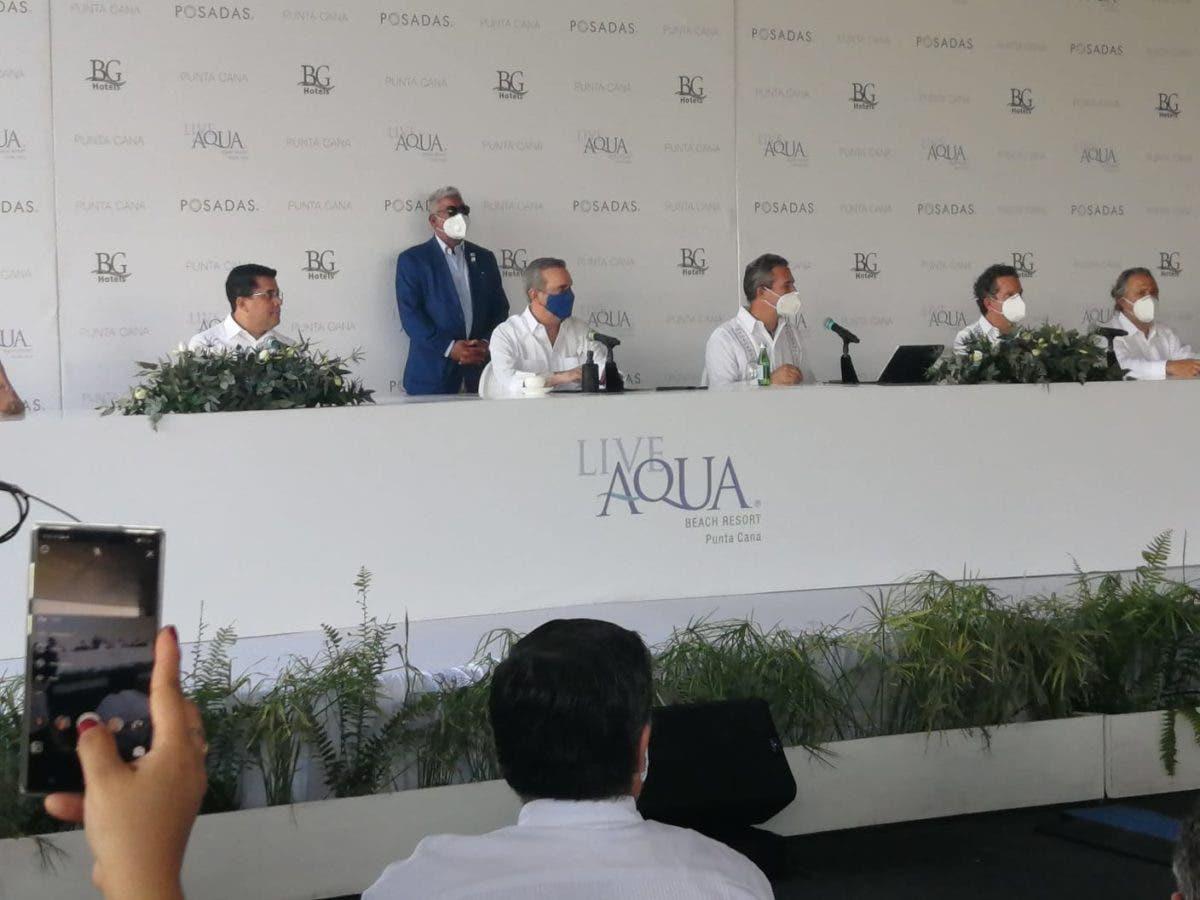Abinader inaugura Live Aqua Beach Resort, primer hotel de Grupo Posadas en RD