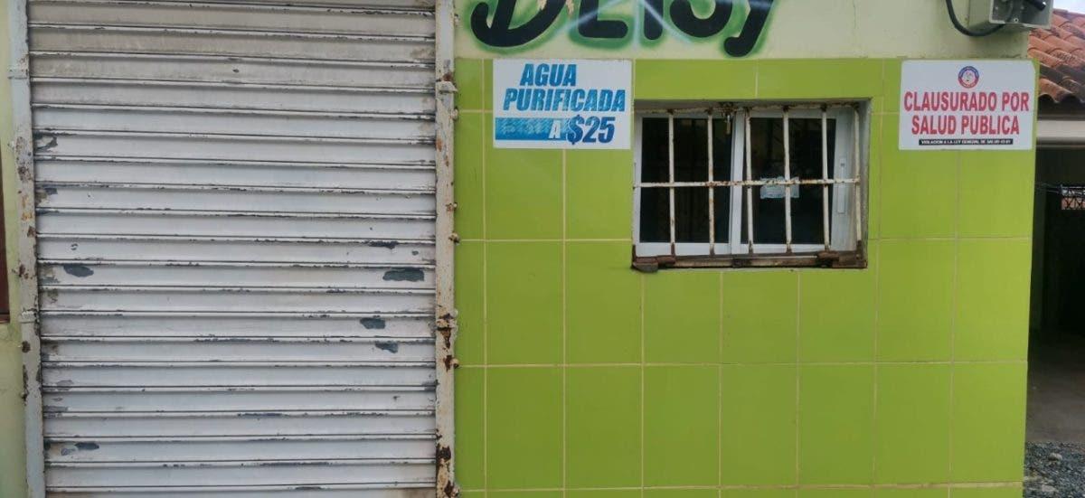 Salud Pública cierra plantas procesadoras de agua por operar de forma ilegal