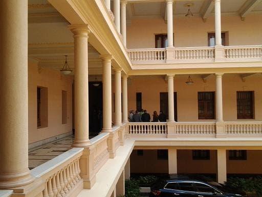 Abinader se encuentra reunido con varios ministros a puertas cerradas en Palacio