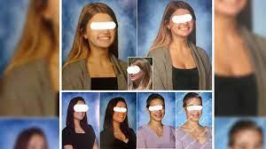 Polémica por retoque de escotes en fotos de alumnas en escuela de Florida