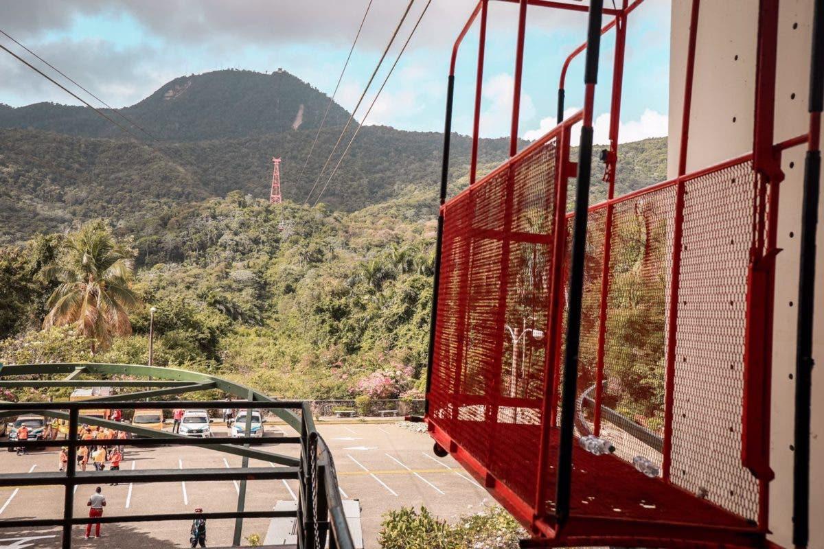Cerrarán teleférico de Puerto Plata  hasta que sea corregida la avería