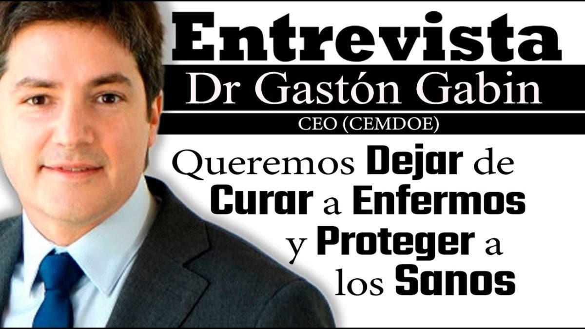 Entrevista a Gastón Gabin en el programa Telematutino 11