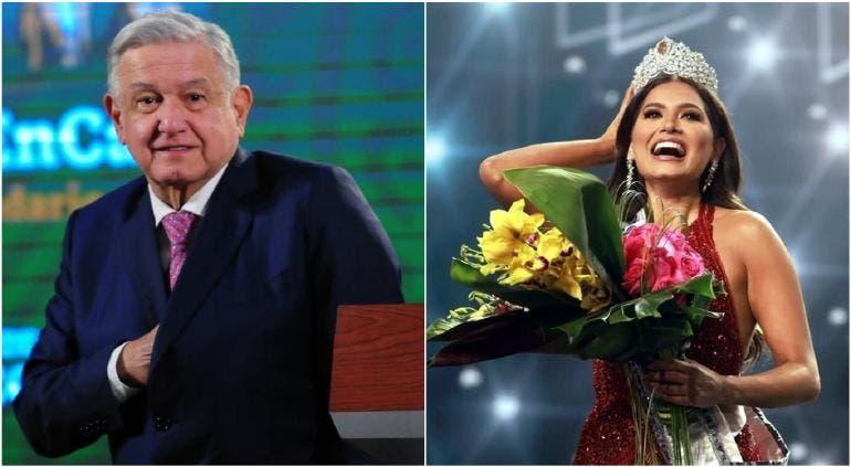 López Obrador felicita a la nueva Miss Universo mexicana: «Es la más guapa»