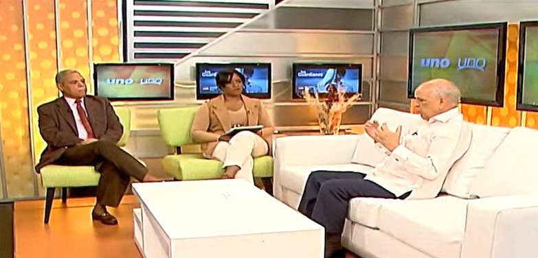 Entrevista a José Daniel del Rosario en el programa Uno + Uno