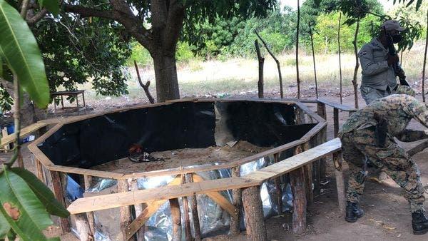 PN y ERD desmantelan dos galleras clandestinas en Montecristi