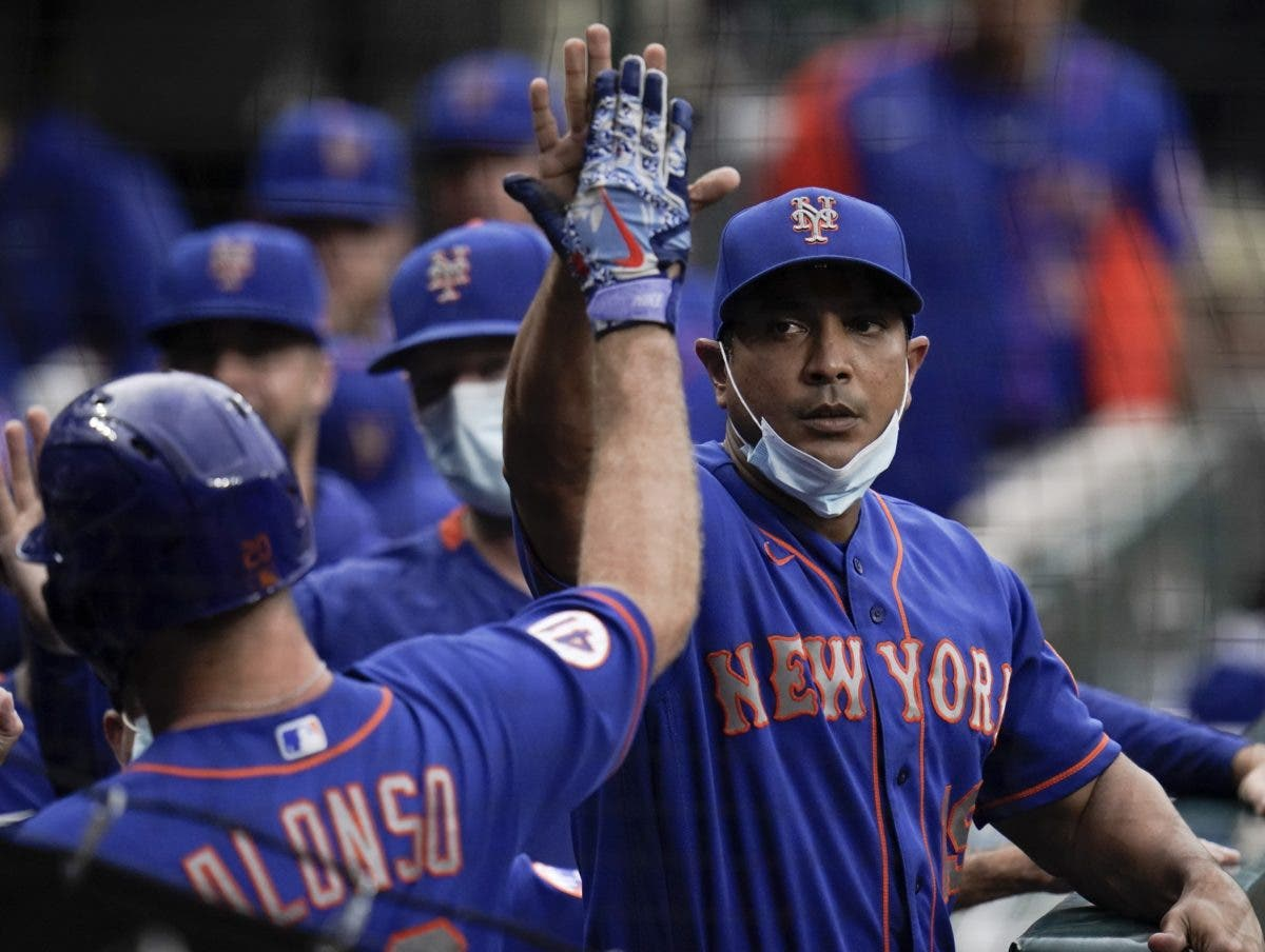 Luis Rojas triunfa en NY Tiene a los Mets en primer lugar
