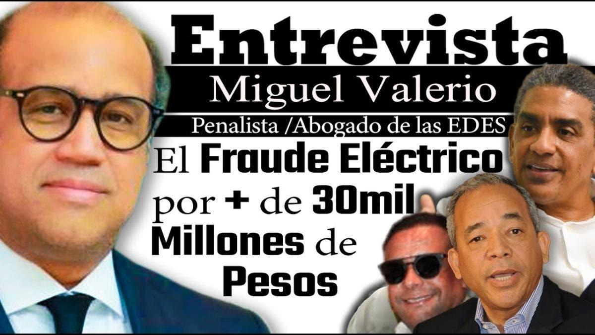 Entrevista a Miguel Valerio en el programa Telematutino 11