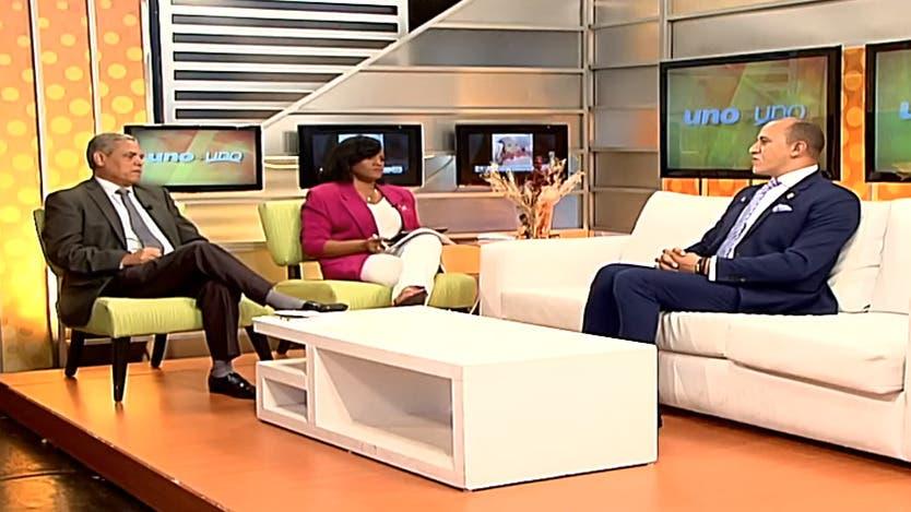 Entrevista a Frank Ramírez en el programa Uno + Uno