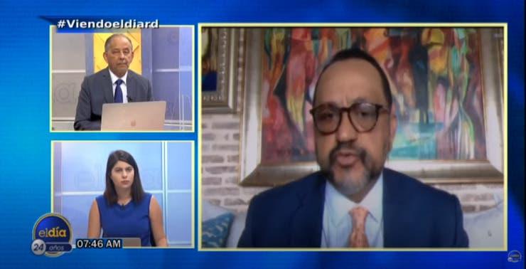 Entrevista a Antoliano Peralta en el programa El Día