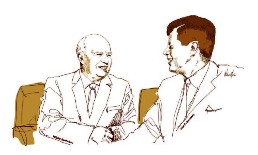 Kennedy y Khruschev se reunieron en Viena hace 60 años