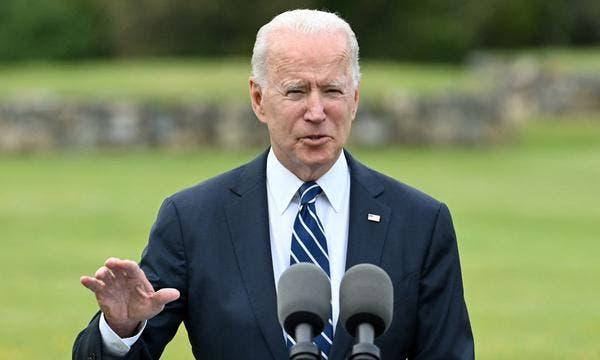 Biden sale del G7 con compromisos frente a China y tras hablar de Rusia
