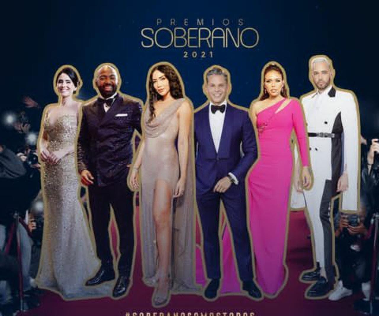 Los Premios Soberano en fotos y videos