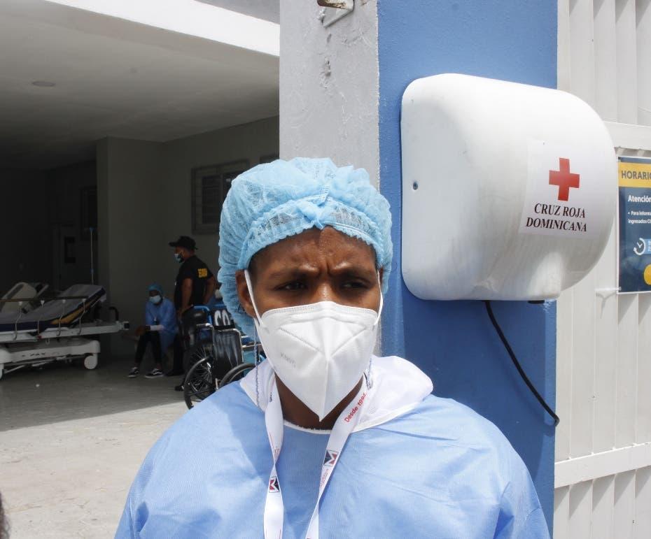 Agilizan traslado de pacientes covid en el Moscoso Puello