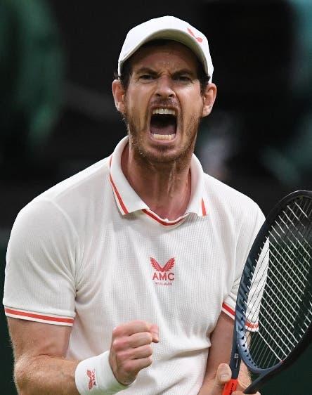 Veterano Andy Murray vence Otte en Wimbledon
