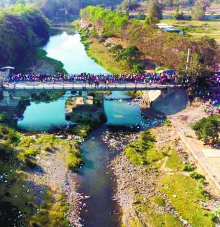 Afirma es inaceptable canal en río Masacre