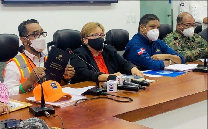 Autoridades dan información sobre temporada ciclónica
