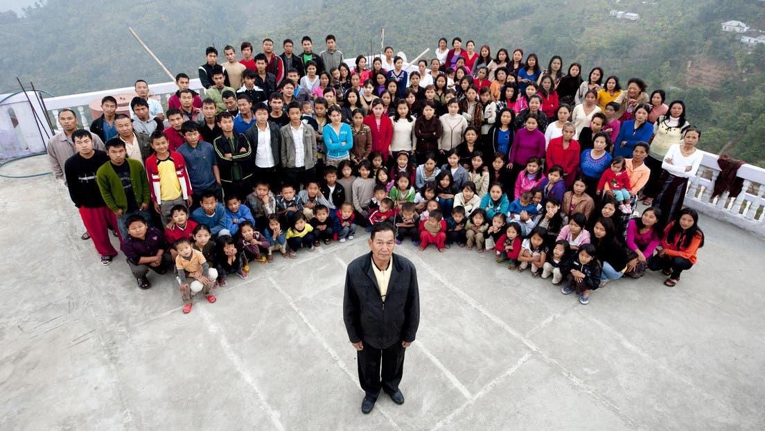 Muere el cabeza de la «familia más grande del mundo», que tenía 38 esposas y 89 hijos
