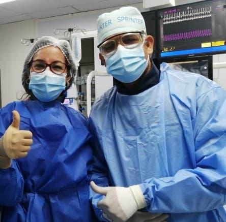 Realizan con éxito cateterismo a bebé de 14 días