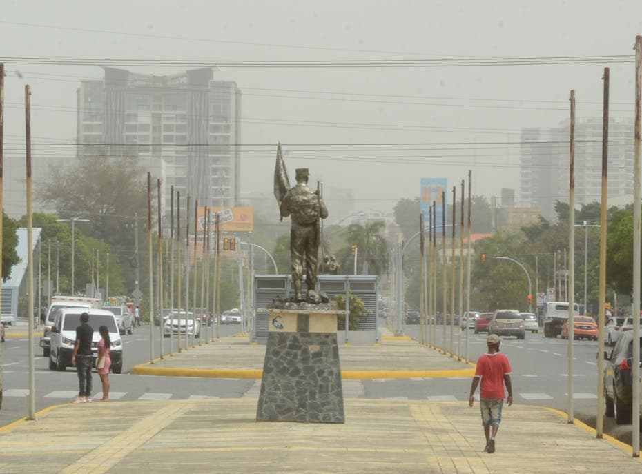 Santo Domingo sentirá efectos del polvo del Sahara hasta el sábado