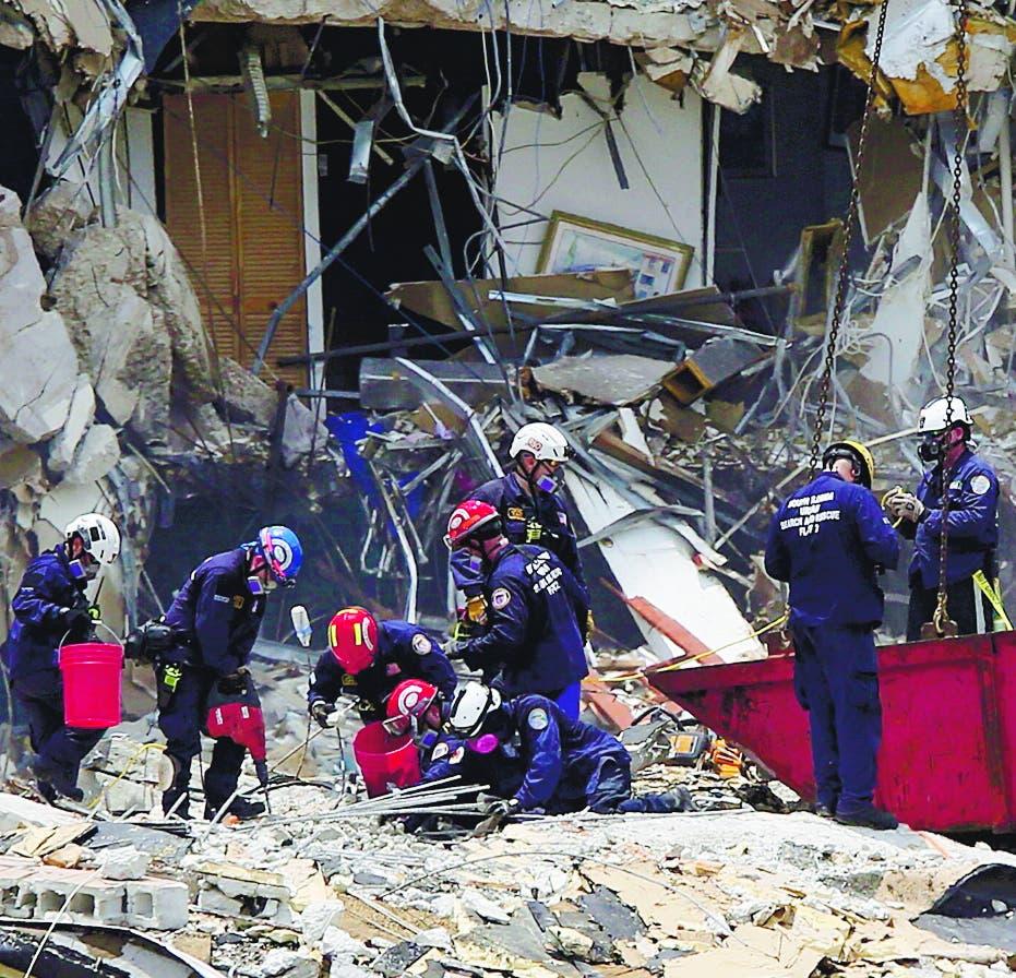 Lento rescate Miami desespera   familiares 150 desaparecidos