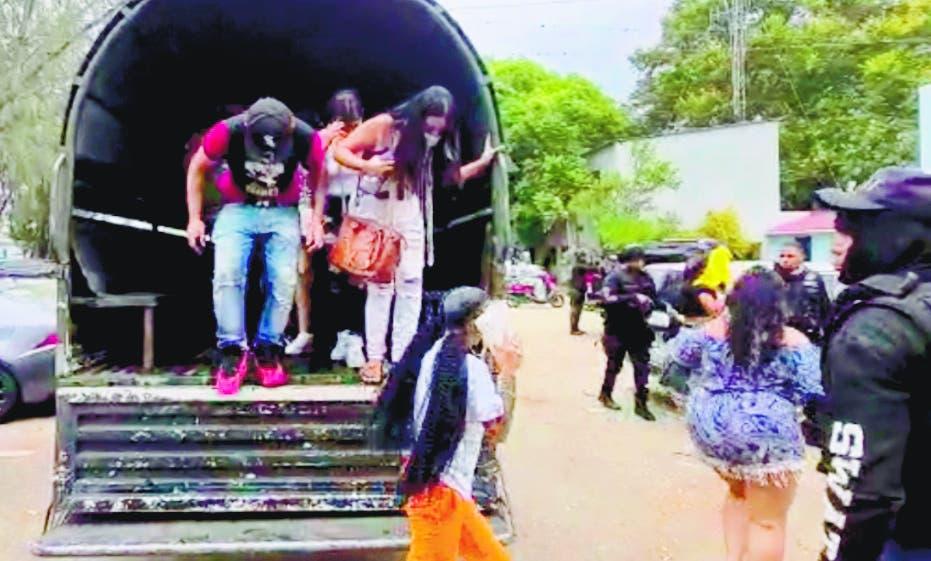 Fiesta clandestina concluye con   369 detenidos