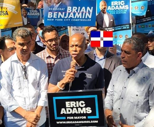 """A punto de cumplirse pronóstico precandidato alcaldía NYC: «ganaré con el voto de los dominicanos"""""""