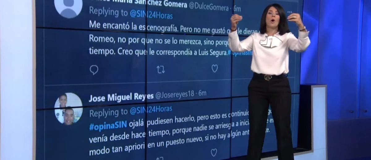 Alicia Ortega «se riega» en plena transmisión de noticias por «teteos»  y ocupación hospitalaria