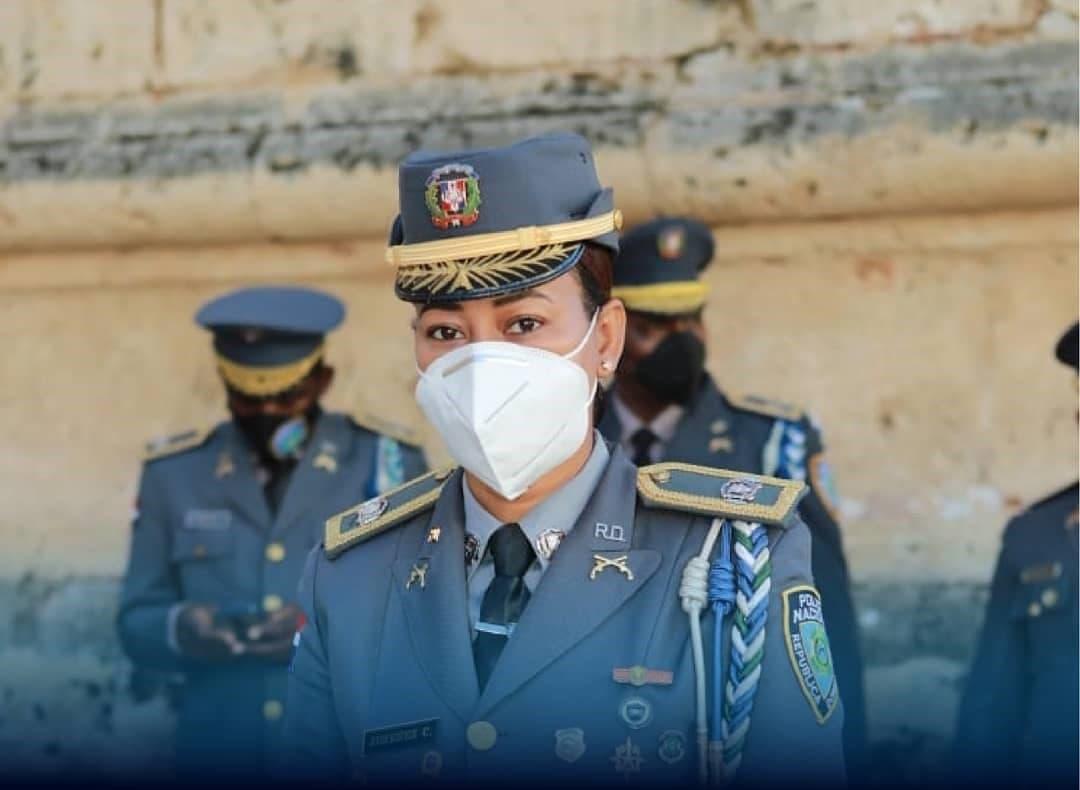 ¿Quién es la teniente coronel Ana Jiménez Cruceta? Primera vocera de la P.N.