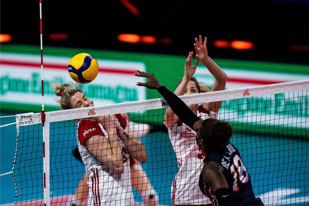 Reinas del Caribe derrotan a Polonia; ponen récord en 3-3