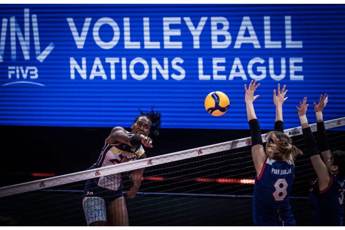 Liga de Naciones: República Dominicana derrota 3-0 a Corea del Sur