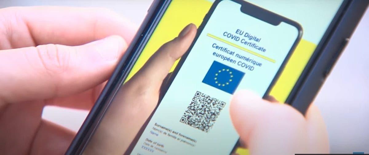 El certificado COVID digital entra en vigor oficialmente en la UE