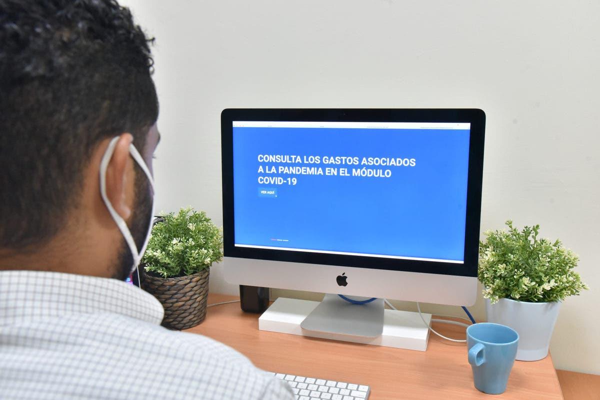 Nueva plataforma digital transparenta el uso de recursos públicos para atender la pandemia