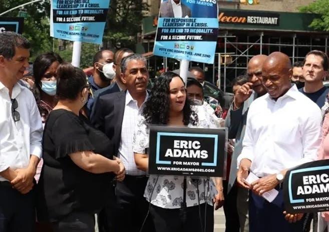 Candidatos en NYC se comprometen visitar RD si ganan; Adams firmará acuerdos