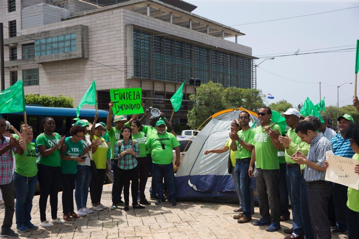 Marcha Verde respalda al MP por Operación Medusa: «Hoy se marca un hito»