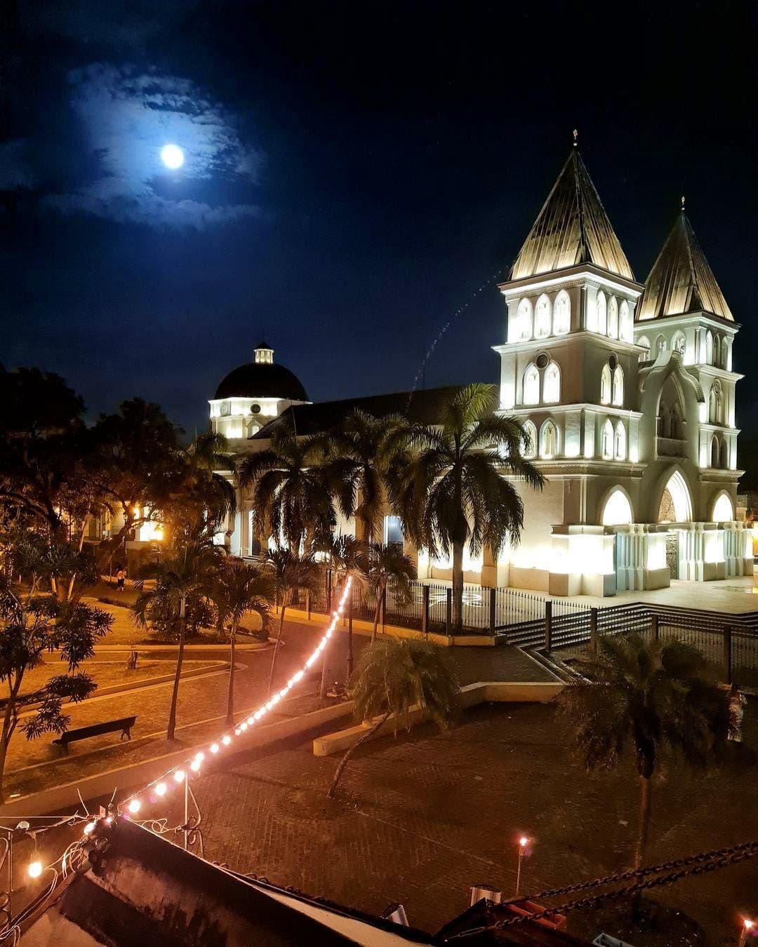 Así fue como se vio la última Superluna del año en República Dominicana