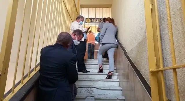 Arrestados por fraude en la Lotería Nacional están en cárcel del Palacio de Justicia