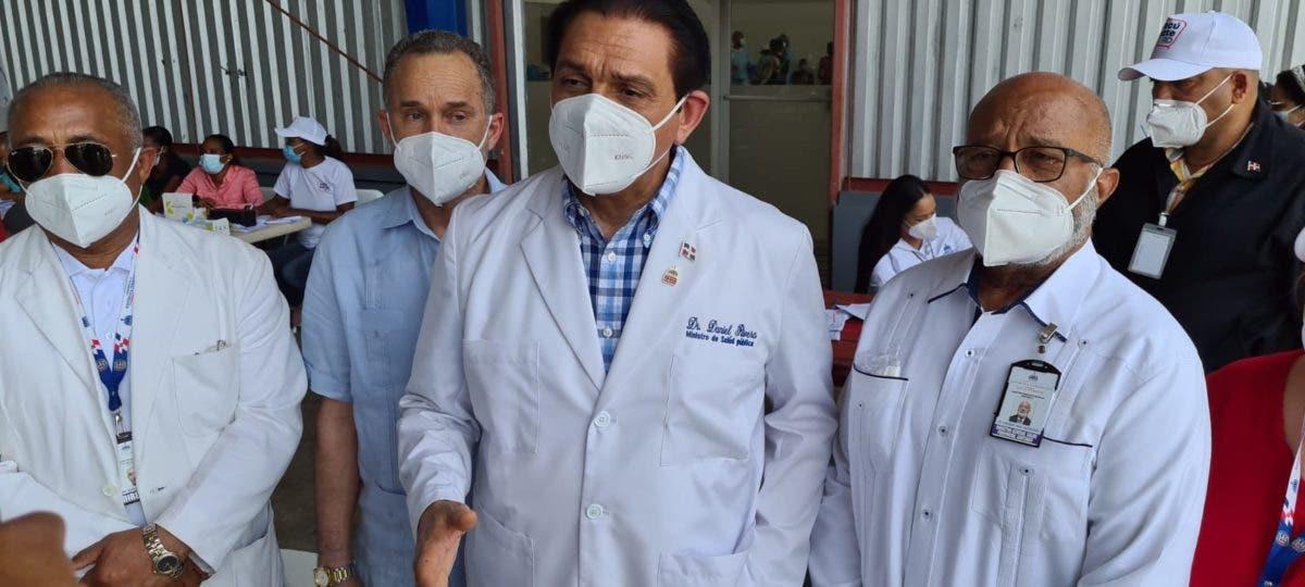 Daniel Rivera: Pronto habrá más dos millones de dominicanos vacunados con segunda dosis
