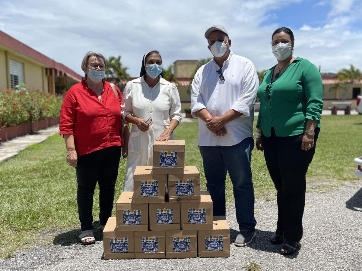 Conaleche realiza donación de lácteos en conmemoración del Día Mundial de la Leche 2021