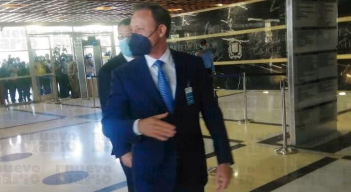 Exprocurador Jean Alain Rodríguez es trasladado a celda del Palacio de Justicia
