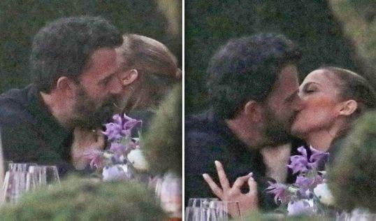 Jennifer López y Ben Affleck son fotografiados besándose en el regreso de «Bennifer»