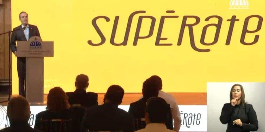 Luis Abinader lanza programa «Supérate» con integración de un millón de hogares