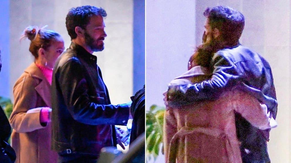 Imágenes de Ben Affleck y Jennifer Lopez en su primera aparición pública como pareja