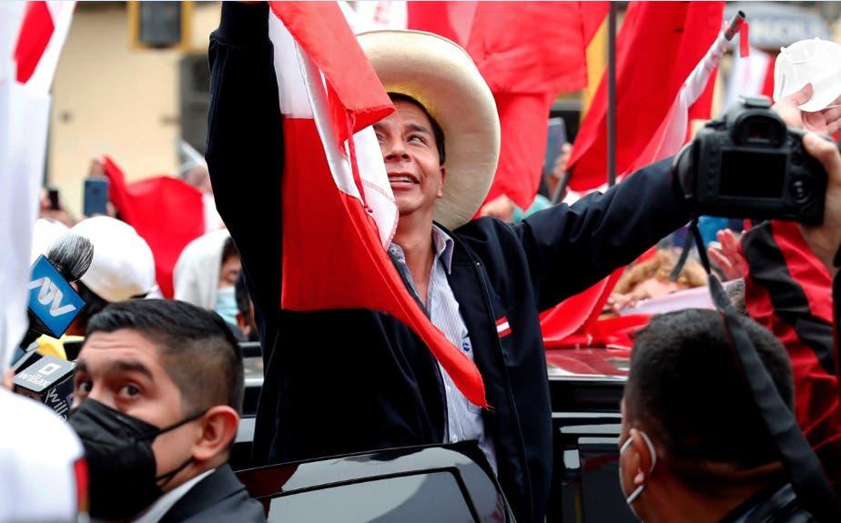 Izquierdista Pedro Castillo se aproxima al triunfo electoral en Perú