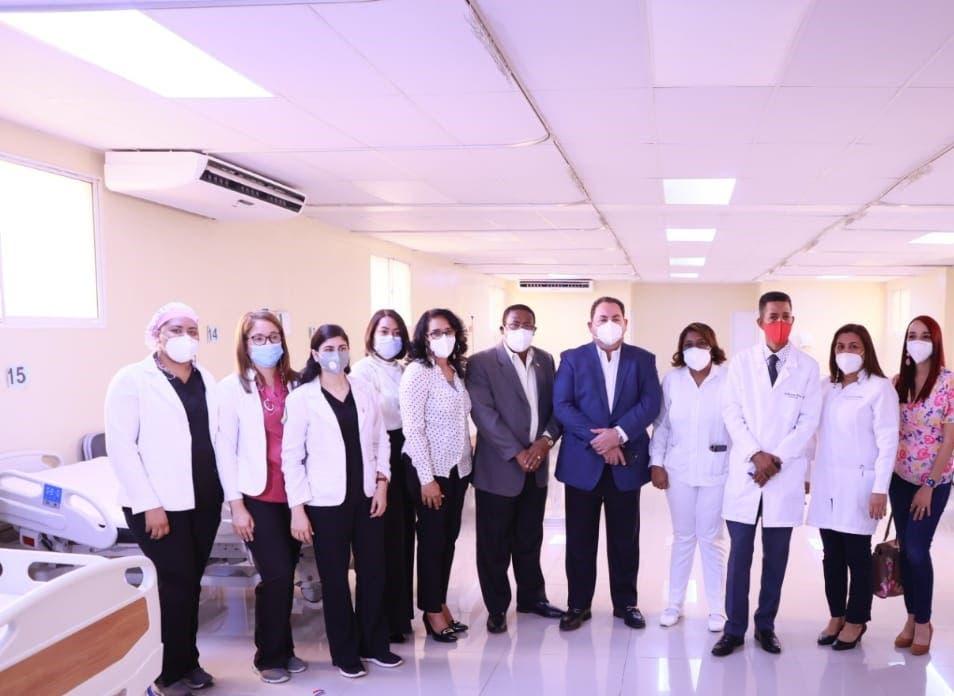 SNS amplía a 32 cantidad camas COVID-19 en hospital Robert Reid Cabral