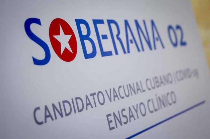Potencial vacuna cubana Soberana 02 muestra eficacia del 62% en ensayos