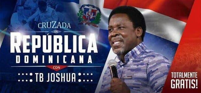 ¿Cómo fue la visita de T.B. Joshua a la República Dominicana?