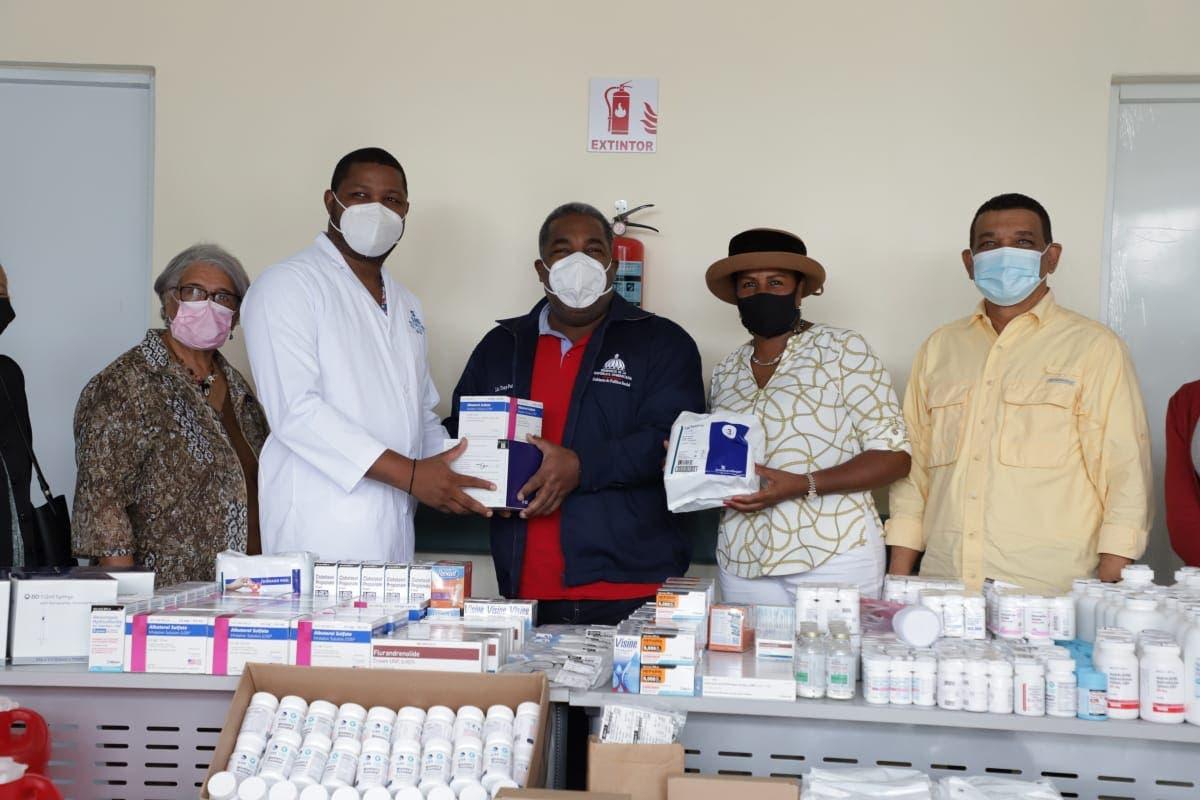 Gabinete de Política Social canaliza donación de medicamentos e insumos médicos en La Vega y Samaná