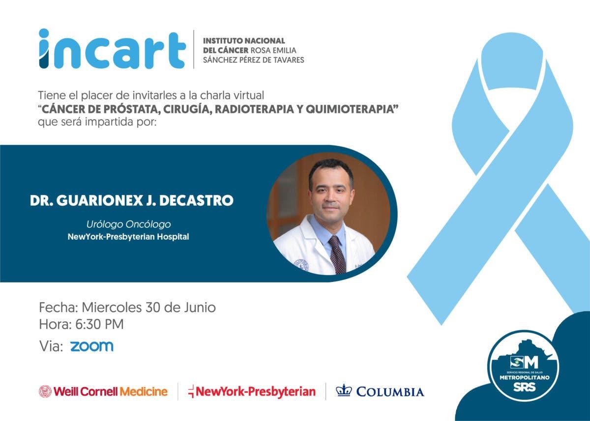 Incart inicia jornada de capacitación para el segmento de médicos oncólogos a nivel nacional.